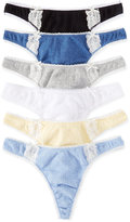 Charter Club Pointelle Cotton Thong, Only at Macy's