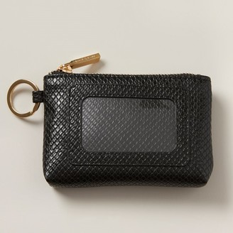 Love & Lore Love And Lore Keychain Id Wallet Black Snake