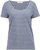 Samsoe & Samsoe NOBEL Print Tshirt white/blue