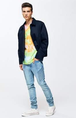 Pacsun PacSun Medium Moto Stacked Skinny Jeans