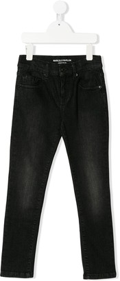 Marcelo Burlon County Of Milan Kids Skinny Jeans