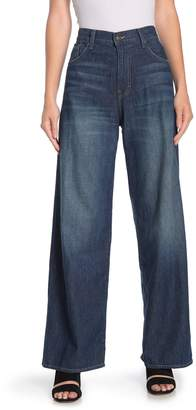 Vince High Waisted Wide Leg Jeans