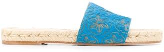 Solange Floral Sandals