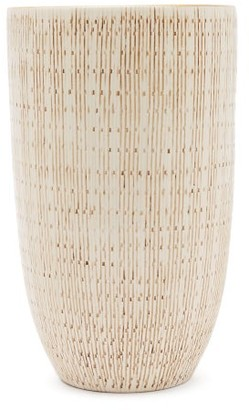 AERIN Amelie Earthenware Vase - White