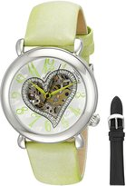 Stuhrling Original Women's 109SW.1215D2 Cupid Aphrodite Collection Automatic Skeleton Watch