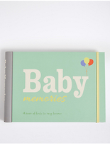 Marks and Spencer Baby Memories Book