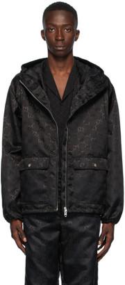 Gucci Black Nylon GG Jacket