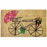 Asstd National Brand Bicycle Welcome Doormat - 18X30