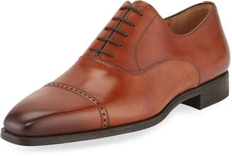 Magnanni Men's Wolden Perforated Lace-Up Dress Shoe