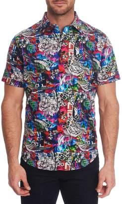 Robert Graham Classic-Fit Printed Short-Sleeve Shirt