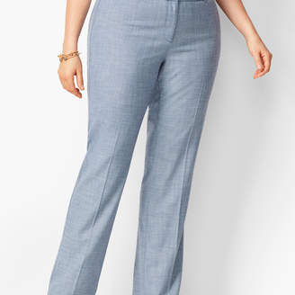 Talbots Tailored Sharkskin Barely Boot Pants