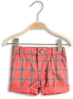Esprit OUTLET checked short withith elastic withaistband