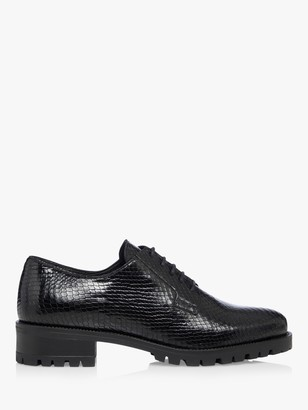 Dune Flash Leather Lace Up Shoes