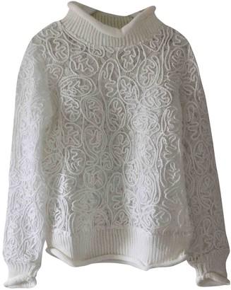 Suncoo White Wool Knitwear for Women