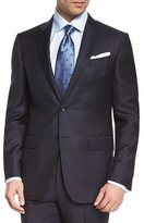Ermenegildo Zegna Trofeo Graph-Check Two-Piece Suit, Navy