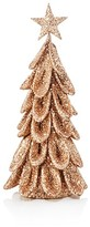 Bloomingdale's Copper Glitter Christmas Tree Decoration, 13""