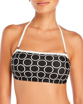 DKNY Close Up Bandeau Bikini Top