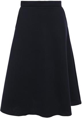 Être Cécile Aline Fluted Scuba Midi Skirt