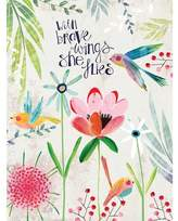 Oopsy Daisy Fine Art For Kids With Brave Wings She Flies by Kate Mason Paper Print