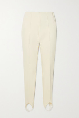 Bogner Elaine Stretch Stirrup Ski Pants - White