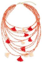 Saks Fifth Avenue Beaded Statement Necklace