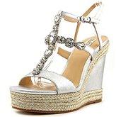 Badgley Mischka Women's Coco Espadrille Wedge Sandal