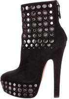 Alaia Stud Embellished Ankle Boots
