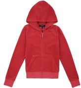 Juicy Couture Outlet - GIRLS LOGO VELOUR VIVA CROWN ROBERTSON JACKET