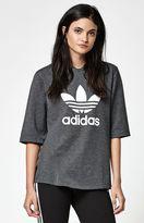 adidas Hi Neck 3/4 Sleeve T-Shirt