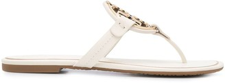 Tory Burch Miller metal-logo sandals