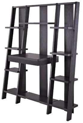 Room & Joy Del Norte Ladder Desk Wall - Espresso