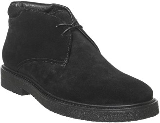 Vagabond Gary Lace Up Boots Black Suede