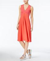 Rachel Roy Mixed-Media A-Line Dress, Created for Macy's