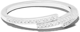 Astley Clarke 14kt white gold Icon Scala diamond ring