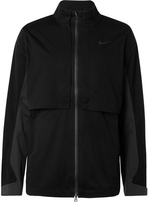 Nike Hypershield Rapid Adapt Logo-Print Convertible Shell Golf Jacket