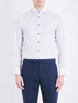 Eton Dotted slim-fit cotton shirt