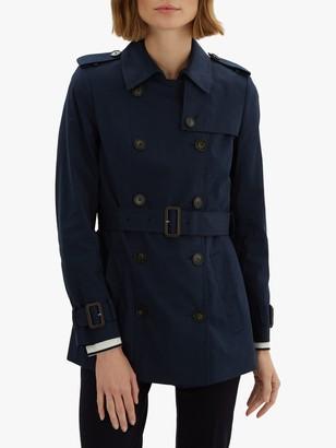 Jaeger Short Cotton Trench Coat