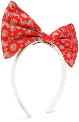 Hucklebones London Bow hairband
