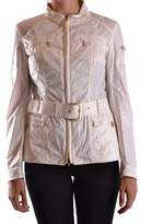Geospirit Women's Beige Cotton Outerwear Jacket.