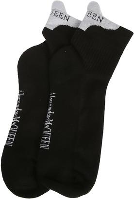 Alexander McQueen Logo Socks