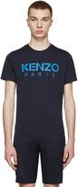 Kenzo Navy Logo T-Shirt
