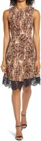 Thumbnail for your product : Donna Ricco Sleevless Fit & Flare Dress