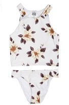 O'Neill Girl's Bianca Floral Two-Piece Swimsuit