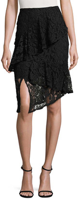 Lea & Viola Layered Lace Skirt