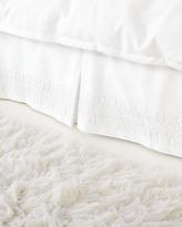 Serena & Lily Swirl Appliqué Bedskirt