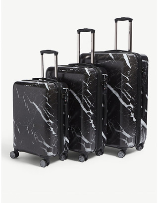 CalPak Astyll four-wheel suitcases set of three