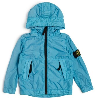 Stone Island Junior Compass Logo Hooded Jacket (6-14 Years)