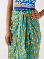White Stuff Pacific leaf sarong