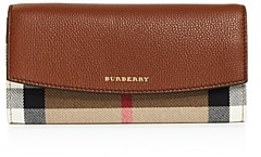 Burberry House Check Porter Leather Wallet (61.9% off) - Comparable value $525