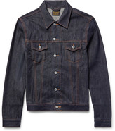 Jean Shop Wayne Raw Selvedge Denim Jacket